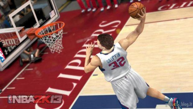 NBA 2K13: prime immagini con Griffin, Rose e Durant