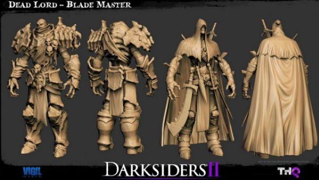 Darksiders 2: nuove immagini sui modelli delle creature e dei personaggi principali