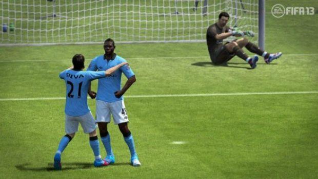 FIFA 13: Balotelli fa Hulk in uno screenshot