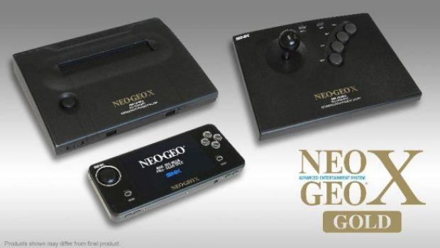 NeoGeo X Gold: data di uscita e prezzo per la nuova portatile Neo Geo