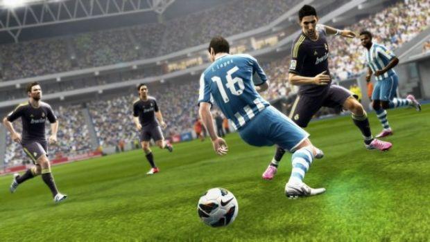 PES 2013: nuove immagini con Messi e Di Maria