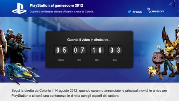 [Gamescom 2012] La conferenza Sony in liveblog