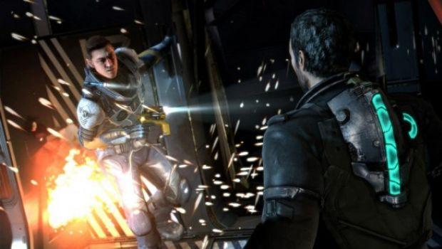 Dead Space 3: Isaac Clarke e John Carver combattono in foto