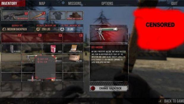 The War Z: nuove immagini sull'interfaccia