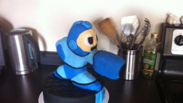 Una torta dedicata a Mega Man – galleria fotografica