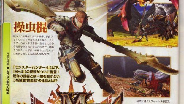 Monster Hunter 4: nuove scansioni da Famitsu