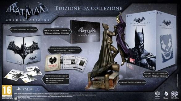 Batman: Arkham Origins – svelata la Collector's Edition