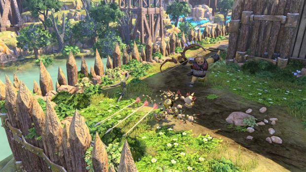 Knack: immagini e video dalla GamesCom 2013