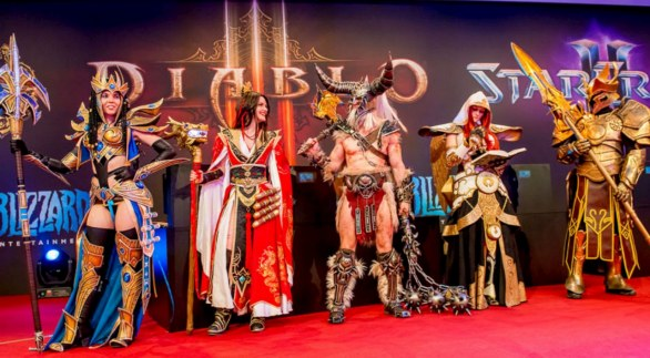 Cosplay domenicale: il GamesCom 2013