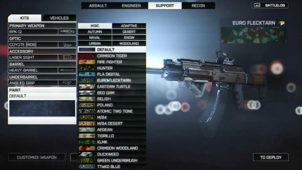 Battlefield 4: nuovo video sulla customizzazione delle armi