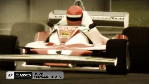 F1 2013: la Ferrari 312 T2 sfreccia in video