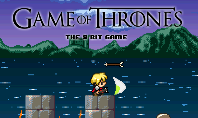 Game of Thrones diventa un gioco a 8-bit