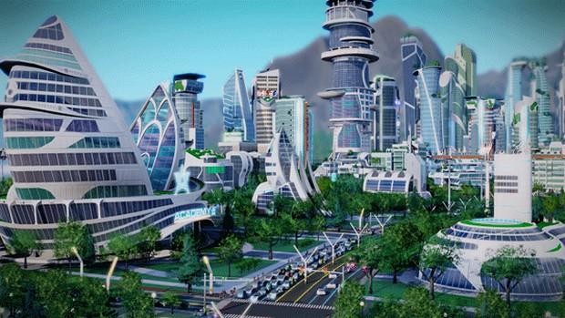 SimCity: immagini e video d'annuncio dell'espansione Cities of Tomorrow