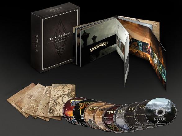 The Elder Scrolls Anthology, tutti i titoli e i DLC da Arena a Skyrim in un package di lusso