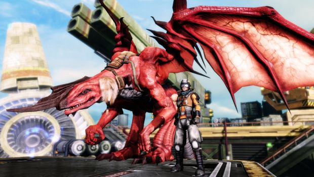 Crimson Dragon: tris di scatti sul dragone Blood Skin