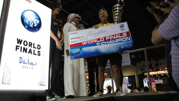 PES 2013: incoronato il campione del mondo a Dubai