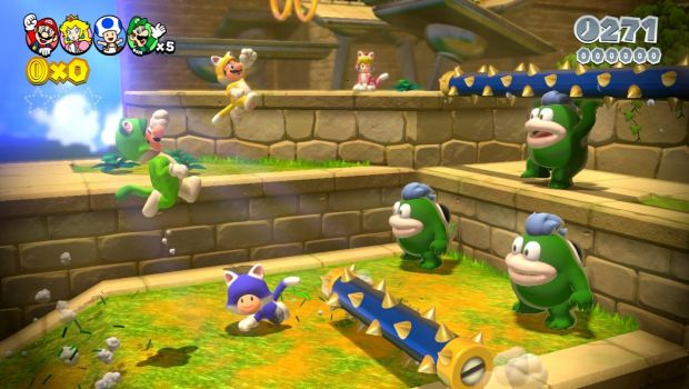 Super Mario 3D World: nuove immagini di gioco