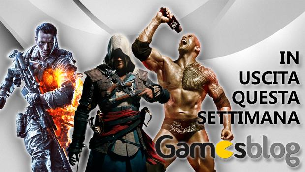 Videogiochi in uscita dal 28 ottobre al 4 novembre: Battlefield 4, Assassin's Creed IV Black Flag, WWE 2K14