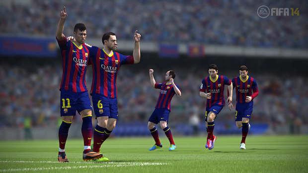 Le 12 offerte di Natale del PlayStation Store, offerta 1: FIFA 14 per PS3 e PS Vita a -50%
