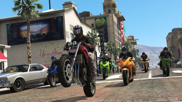 Grand Theft Auto V: nuove info e qualche immagine sui prossimi aggiornamenti