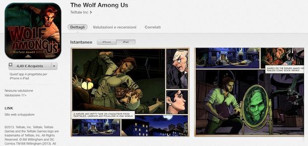 The Wolf Among Us arriva su iPhone e iPad