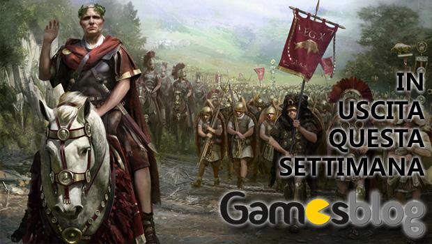 Videogiochi in uscita dal 16 al 22 dicembre: Total War Rome II Cesare in Gallia, Battlefield 4 China Rising, Ridge Racer Slipstream