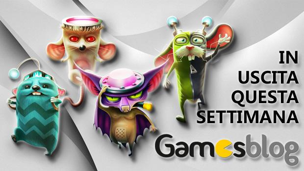 Videogiochi in uscita dal 9 al 15 dicembre: Peggle 2, Tiny Brains, Wii Fit U