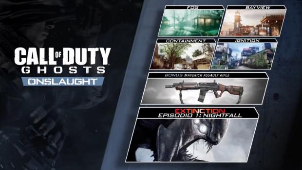Call of Duty: Ghosts – trailer d'annuncio e nuovi dettagli sul DLC Onslaught