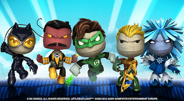 LittleBigPlanet, da domani il terzo pacchetto di costumi DC Comics