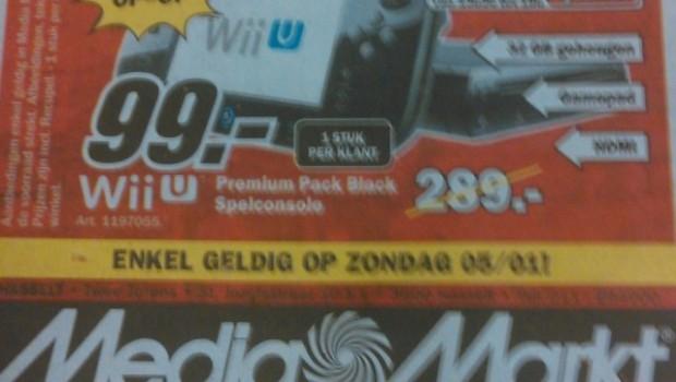 Nintendo Wii U Premium a 99 euro, e non è uno scherzo