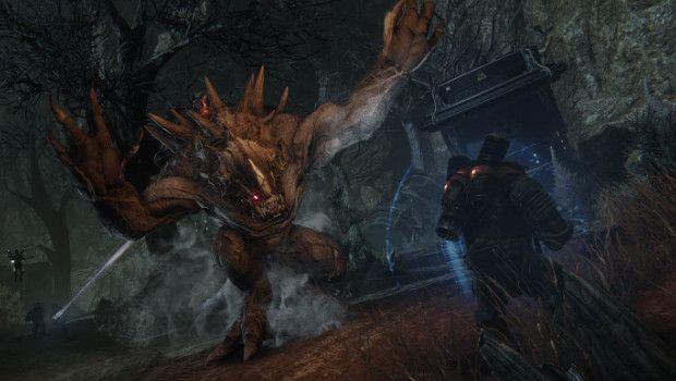 Evolve: Goliath e Cacciatori combattono in foto