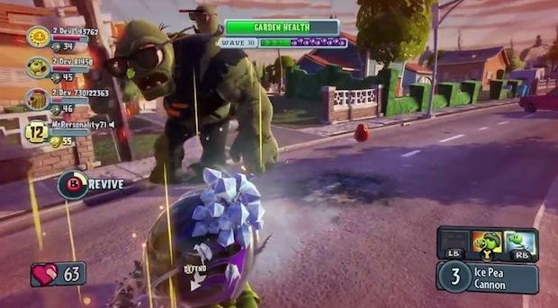 Plants vs Zombies: Garden Warfare, nuovo video di gameplay per la modalità co-op
