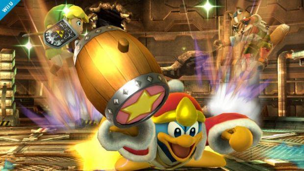 Super Smash Bros. per Wii U e 3DS: Zelda, Link e King Dedede combattono in foto