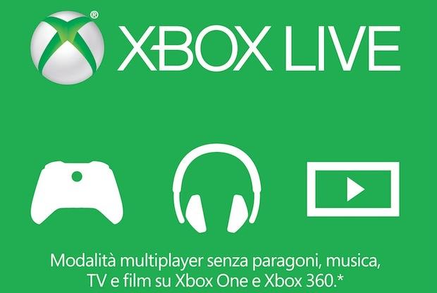Xbox Live Gold in offerta fino al 5 febbraio a 39,99 euro