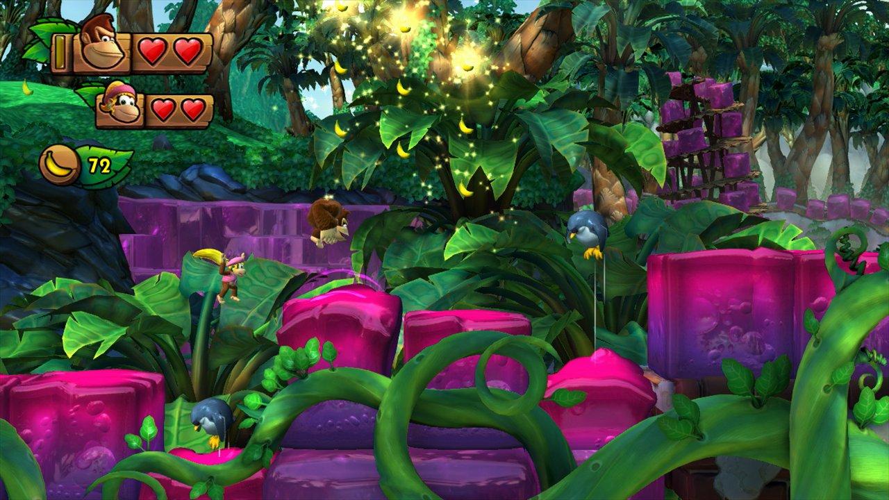 Donkey Kong Country: Tropical Freeze – trailer di lancio e nuove immagini di gioco