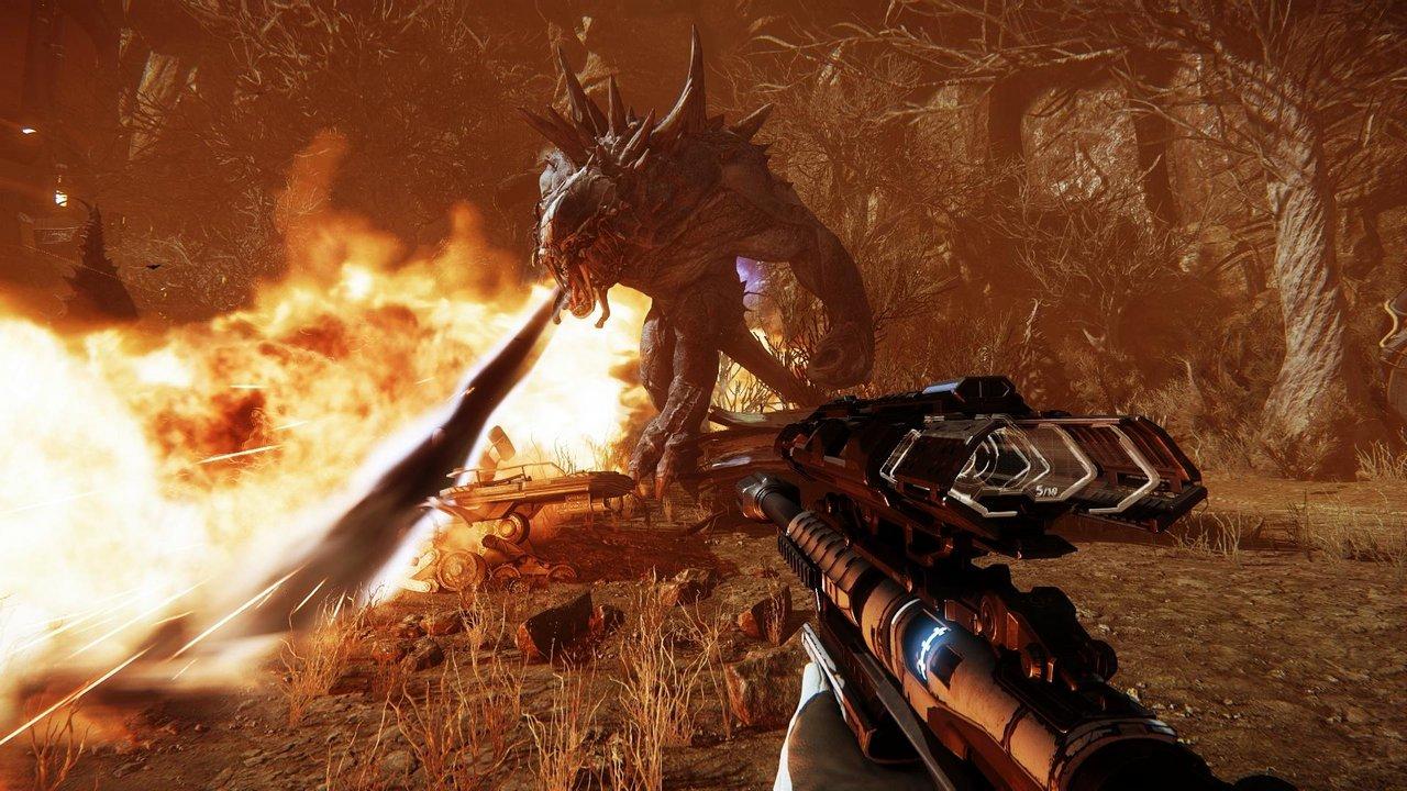 Evolve: nuove immagini e primo video di gioco