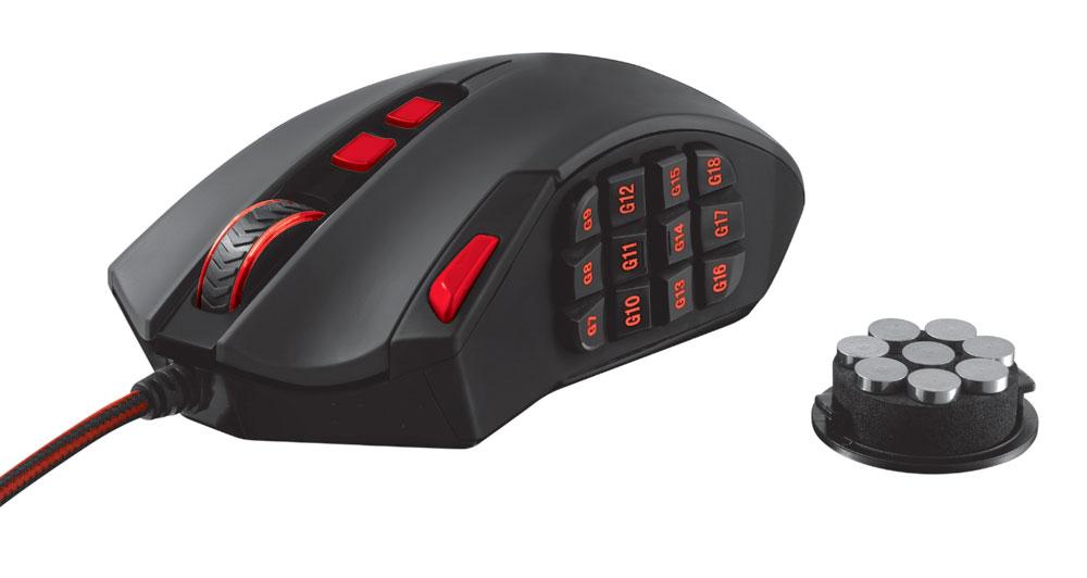 Trust presenta il nuovo mouse per gamer GXT166 MMO