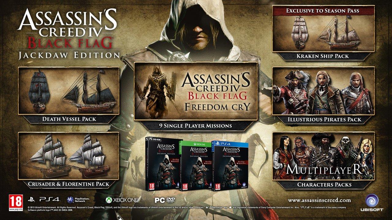 Assassin's Creed IV: Black Flag – svelata la Jackdaw Edition