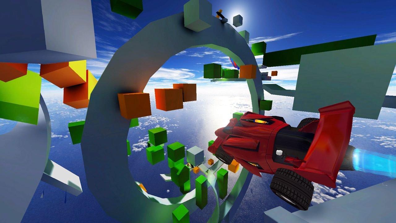 Jet Car Stunts per PC e console: immagini e video d'annuncio