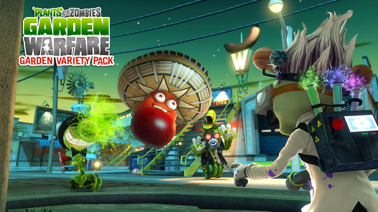 """Plants vs Zombies: Garden Warfare – immagini e video di lancio dell'espansione gratuita """"Garden Variety"""""""