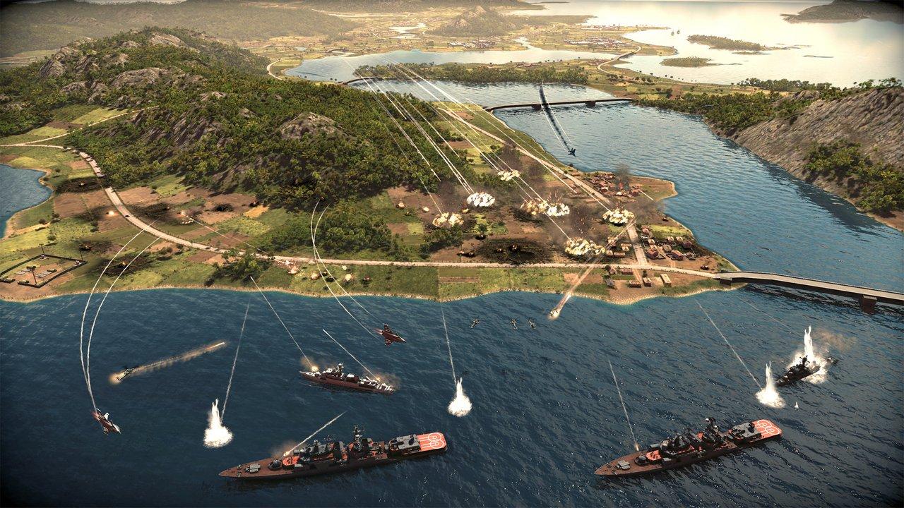 Wargame: Red Dragon – immagini e video sulle battaglie navali