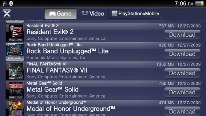 PlayStation Vita, giochi PS One e giochi PSP venduti (e poi cancellati) per errore