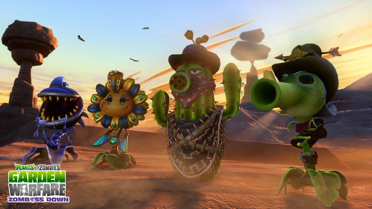 """Plants vs Zombies: Garden Warfare – immagini e video di lancio dell'espansione gratuita """"Zomboss Down"""""""