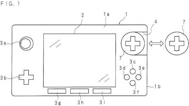 Nintendo, console con tasti intercambiabili in un brevetto: annuncio all'E3 2014?