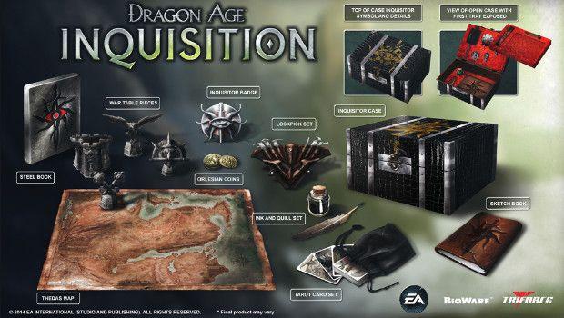 Dragon Age: Inquisition – svelata la pantagruelica Collector's Edition