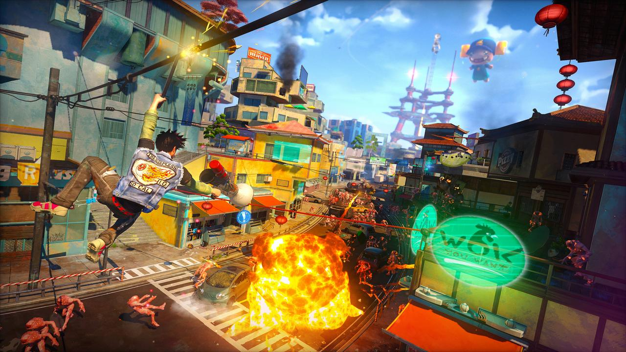 Sunset Overdrive: l'esclusiva Xbox One di Insomniac Games in immagini e video