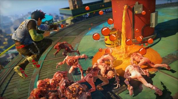 Sunset Overdrive: orsacchiotti esplosivi e pallottole rimbalzanti nell'ultimo gameplay trailer