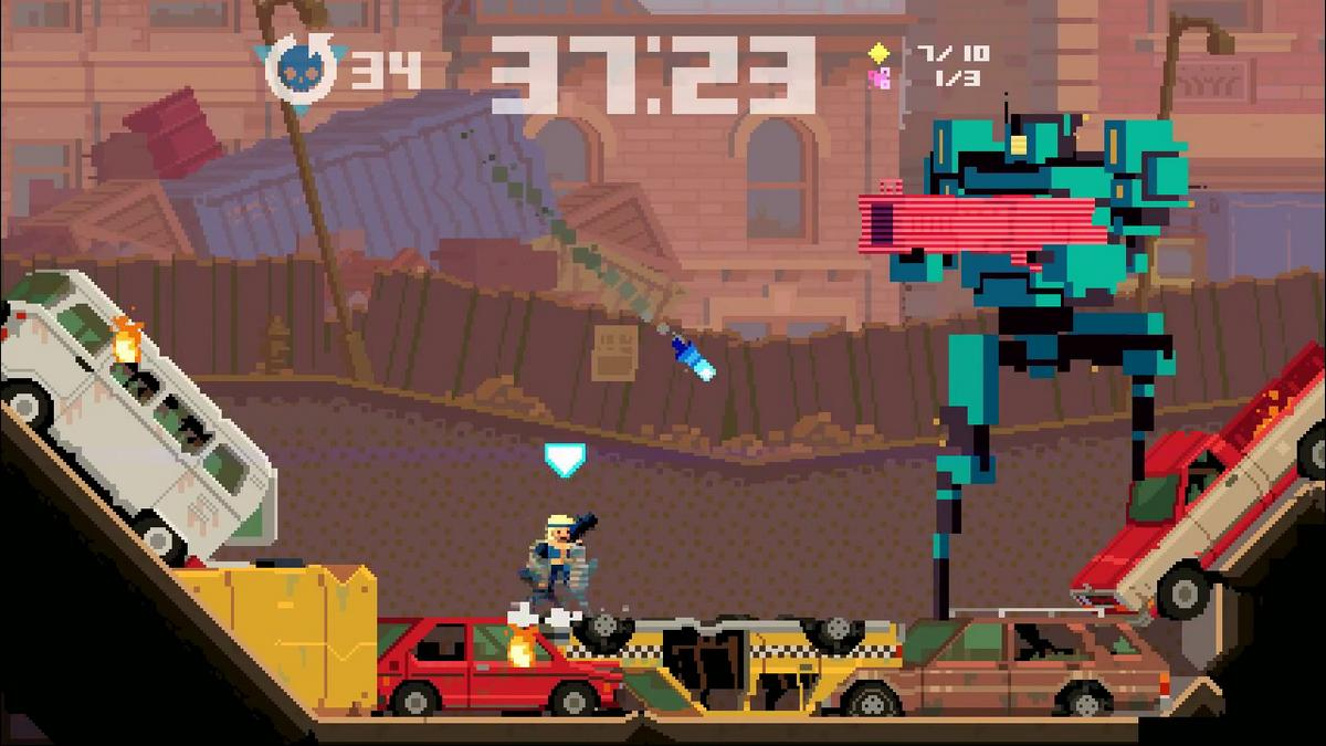 Super Time Force: immagini e video sui poteri in slow-motion