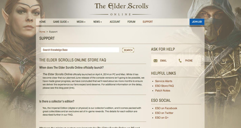 The Elder Scrolls Online, la versione per PS4 e Xbox One slitta di sei mesi