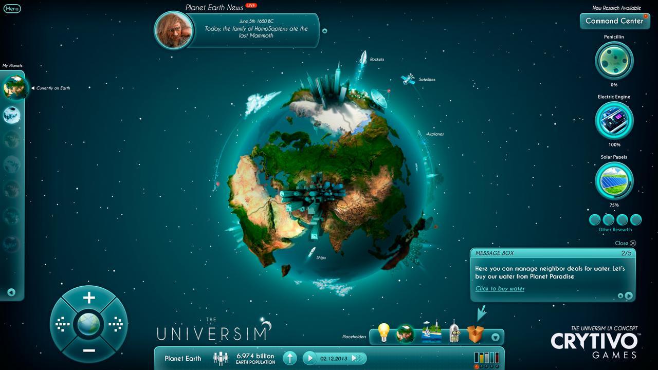 The Universim: il god game di Crytivo vince la sfida di Kickstarter